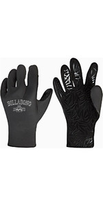 2019 Billabong Womens Furnace Synergy 2mm Neoprene Gloves Black Q4GL15