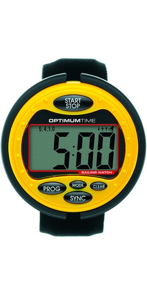 2019 Optimum Time Series 3 Sailing Watch YELLOW 315