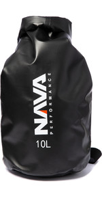 2020 Nava Performance 10L Drybag With Shoulder Strap NAVA006 - Black