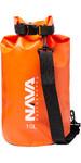 2020 Nava Performance 10L Drybag With Shoulder Strap NAVA007 - Orange