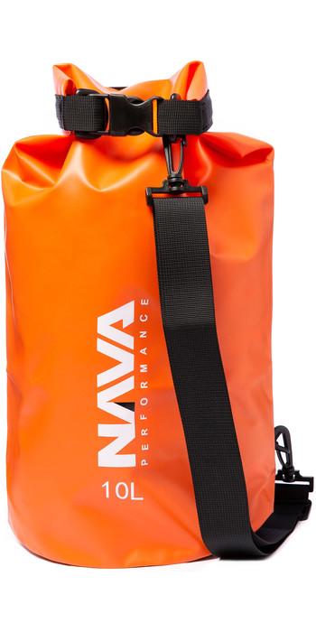 2020 Nava Performance 10L Drybag With Shoulder Strap NAVA006 - Orange