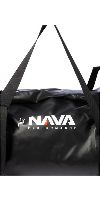 2021 Nava Performance 30L Duffel Bag NAVA008 - Black