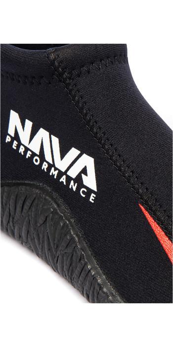 2021 Nava Performance Low-Cut 3mm Neoprene Boots NAVABT01 - Black