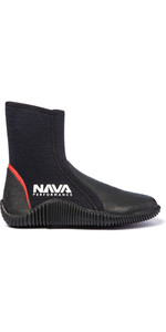 2020 Nava Performance 5mm Neoprene Zipped Boots NAVABT02 - Black