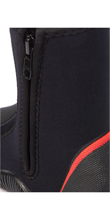2021 Nava Performance 5mm Neoprene Zipped Boots NAVABT02 - Black
