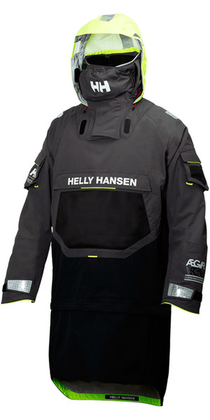 2019 Helly Hansen AEGIR OCEAN DRY TOP Ebony 32006