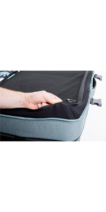 2020 Dakine Split Roller 110L Wheeled Bag 10002942 - Lead Blue