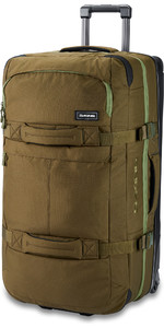 2020 Dakine Split Roller 85L Wheeled Bag 10002941 - Dark Olive