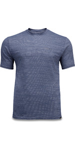 2020 Dakine Mens Roots Loose Fit Short Sleeve Surf Top 10002790 - Night Sky Heather