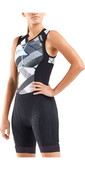 2020 2XU Womens Compression Sleeveless Trisuit WT5522D - Black / Chroma
