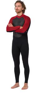 2020 Animal Mens Nova 3/2mm Back Zip Wetsuit AW0SS008 - Black