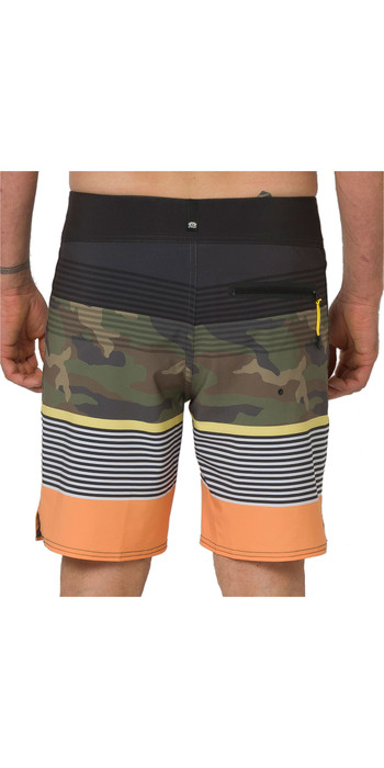 2020 Animal Mens Magano Boardshorts CL0SS008 - Stripes