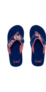 2020 Animal Womens Swish Upper AOP Flip Flops / Sandals FM0SS306 - Rouge Red