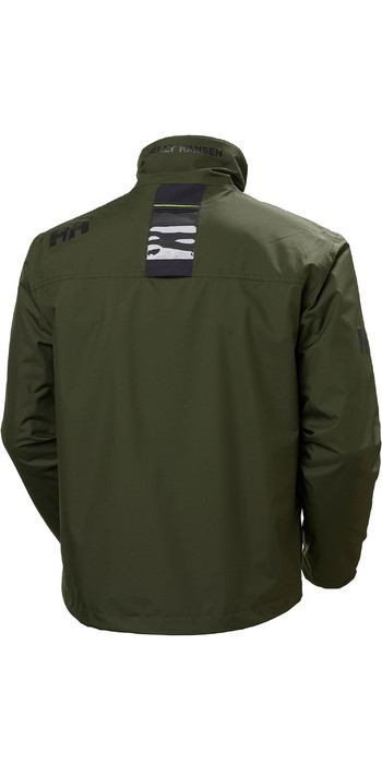 2020 Helly Hansen Mens Crew Midlayer Jacket 30253 - Forest Night