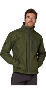 2020 Helly Hansen Mens Crew Midlayer Jacket 30253 - Forest Night
