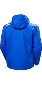 2021 Helly Hansen Mens Crew Hooded Midlayer Jacket 33874 - Royal Blue