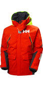 2021 Helly Hansen Mens Skagen Offshore Sailing Jacket 33907 - Cherry Tomato