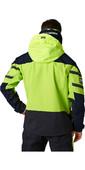 2021 Helly Hansen Mens Skagen Offshore Sailing Jacket 33907 - Azid Lime