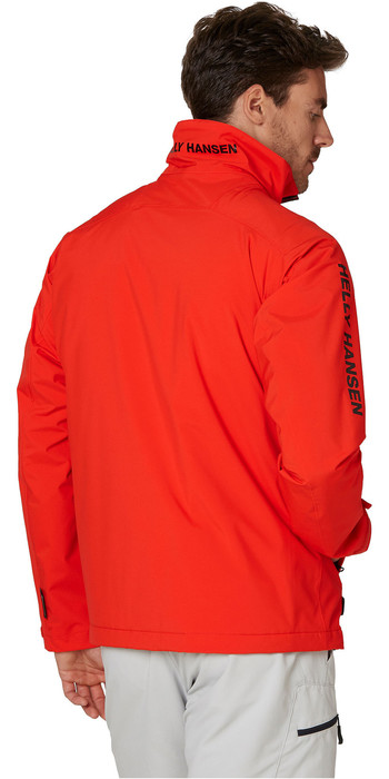 2021 Helly Hansen Mens HP Racing Midlayer Jacket 34041 - Alert Red