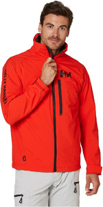2020 Helly Hansen Mens HP Racing Midlayer Jacket 34041 - Alert Red