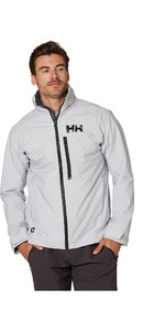 2020 Helly Hansen Mens HP Racing Midlayer Jacket 34041 - Grey Fog