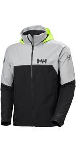 2020 Helly Hansen Mens HP Foil Light Sailing Jacket 34151 - Ebony