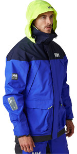 2021 Helly Hansen Mens Pier Sailing Jacket 34156 - Royal Blue