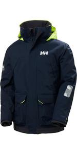 2021 Helly Hansen Mens Pier Sailing Jacket 34156 - Navy