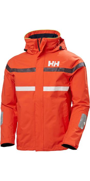 2020 Helly Hansen Mens Saltro Sailing Jacket 34173 - Cherry Tomato