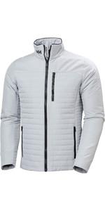 2020 Helly Hansen Mens Crew Insulator Jacket 54344 - Grey Fog