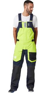 2020 Helly Hansen Mens Skagen Offshore Bib Trousers 33908 - Azid Lime