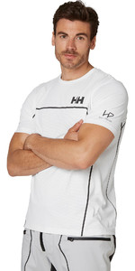 2021 Helly Hansen Mens HP Foil Ocean T-Shirt 34160 - White