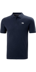 2021 Helly Hansen Mens Transat Polo Shirt 33980 - Navy