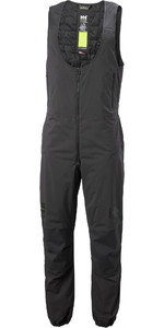 2020 Helly Hansen Mens HP Racing Midlayer Salopettes 34049 - Ebony