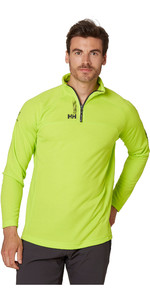 2020 Helly Hansen Mens HP 1/2 Zip Technical Pullover 54213 - Azid Lime