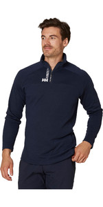 2020 Helly Hansen Mens HP 1/2 Zip Technical Pullover 54213 - Navy