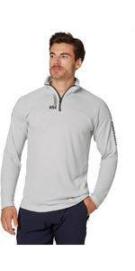 2021 Helly Hansen Mens HP 1/2 Zip Technical Pullover 54213 - Grey Fog