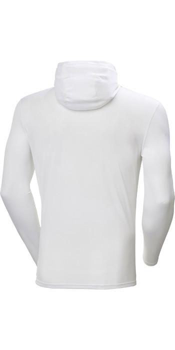 2021 Helly Hansen Mens Lifa Active Solen Hoody 49347 - White