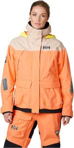 2020 Helly Hansen Womens Pier Coastal Sailing Jacket 34177 - Melon