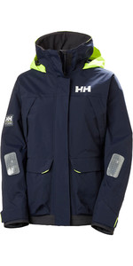 2021 Helly Hansen Womens Pier Coastal Sailing Jacket 34177 - Navy