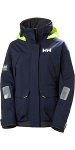 2020 Helly Hansen Womens Pier Coastal Sailing Jacket 34177 - Navy