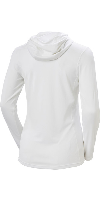 2021 Helly Hansen Womens Lifa Active Solen Hoody 49344 - White