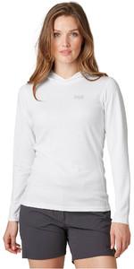 2020 Helly Hansen Womens Lifa Active Solent Hoody 49344 - White