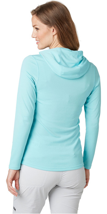 2021 Helly Hansen Womens Lifa Active Solen Hoody 49344 - Glacier Blue