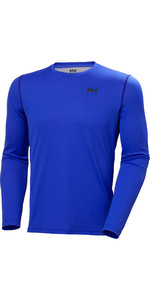 2020 Helly Hansen Mens Lifa Active Solen Long Sleeve Top 49348 - Royal Blue