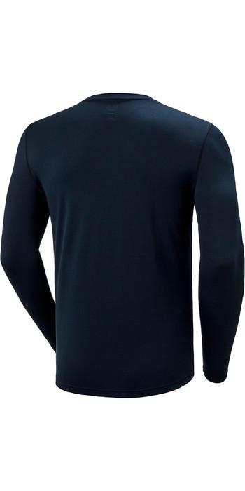 2021 Helly Hansen Mens Lifa Active Solen Long Sleeve Top 49348 - Navy