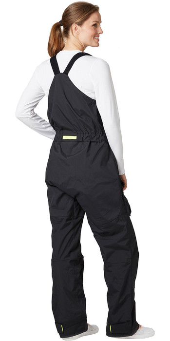 2021 Helly Hansen Womens Pier Bib Trouser 33961 - Ebony