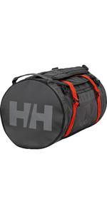 2020 Helly Hansen 50L Duffel Bag 2 68005 - Ebony / Cherry Tomato
