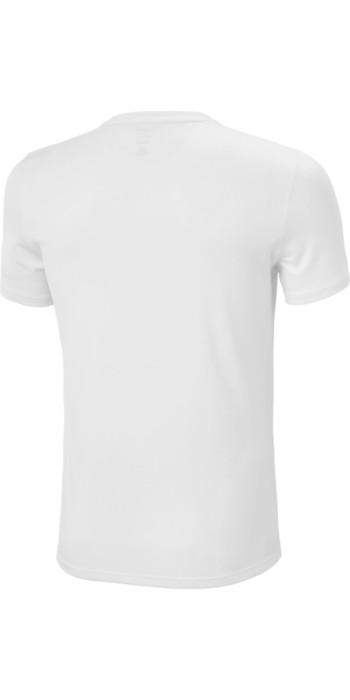 2021 Helly Hansen Mens Lifa Active Solen T-Shirt 49349 - White