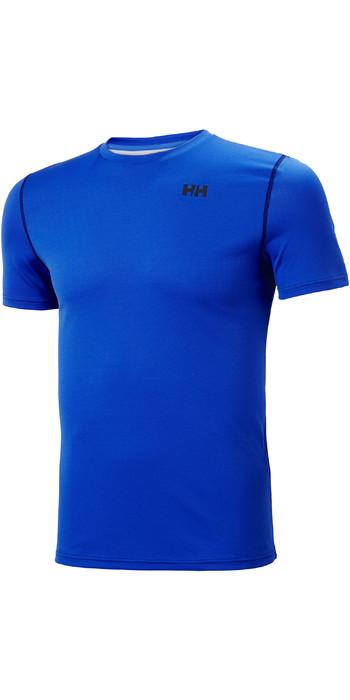 2021 Helly Hansen Mens Lifa Active Solen T-Shirt 49349 - Royal Blue
